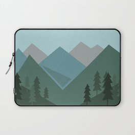 Mountains in the forest Laptop Sleeve
