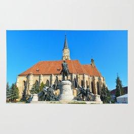 cluj napoca church Rug