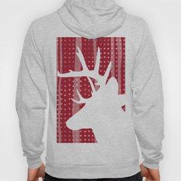 Eleghant Red Deer Holiday Design Hoody