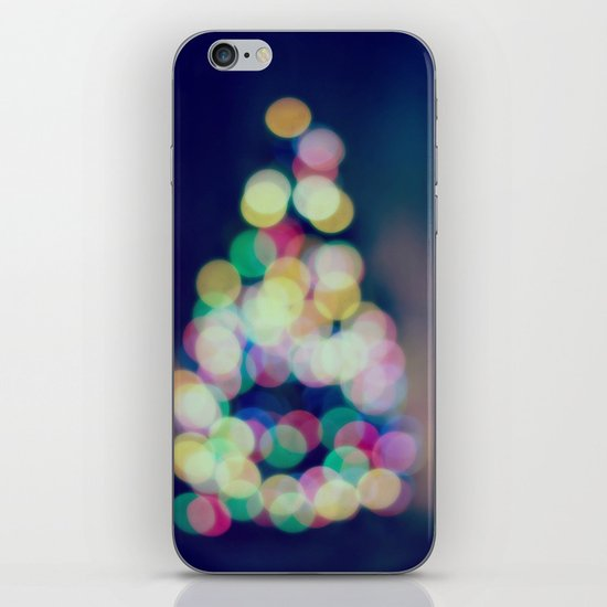 Blue Christmas iPhone & iPod Skin