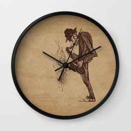 Jazzman Wall Clock
