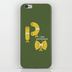 Pasta Party iPhone & iPod Skin