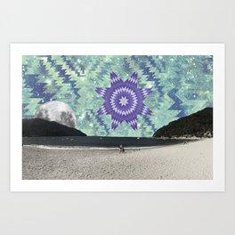 yelapa vision 2 Art Print