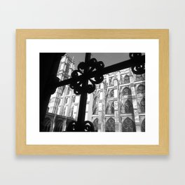 Through the Iron Framed Art Print