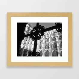 Through the Iron Framed Art Print