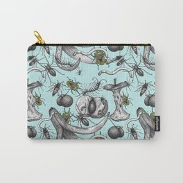 Bug Creepy Crawly Rotten Fruit Illustrative Design Carry-All Pouch