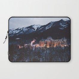 Banff Springs Hotel II Laptop Sleeve