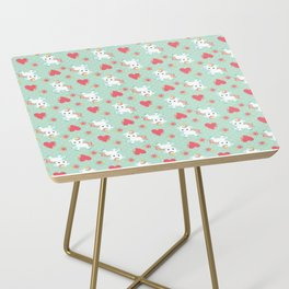 Baby Unicorn with Hearts Side Table
