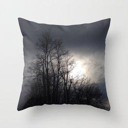 Dark & Moody Throw Pillow