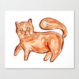 Cat Portrait 2 Canvas Print