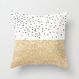 FIRST DATE Throw Pillow