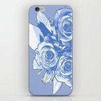 blueprint iPhone & iPod Skins featuring BluePrint by Laurkinn12