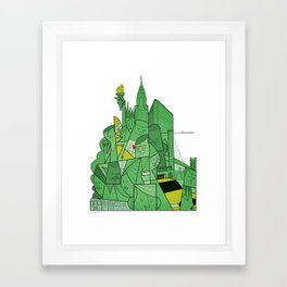 New York Framed Art Print