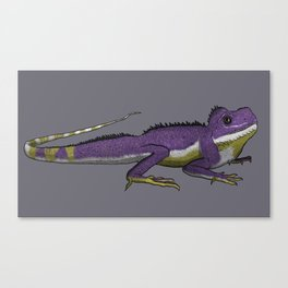 Nonbinary Waterdragon Canvas Print