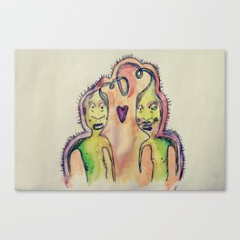 monsters number two  Canvas Print