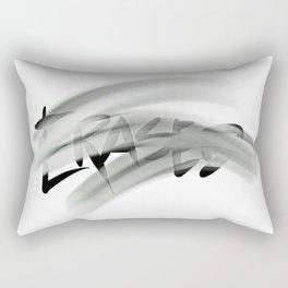 Erased Rectangular Pillow