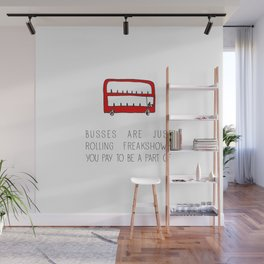 Busses Wall Mural