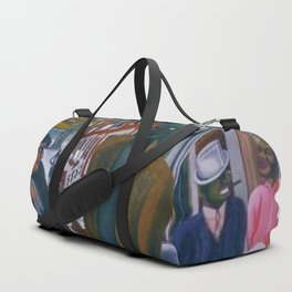 Portrait of Harlem, NY African American Masterpiece by E. Burra Duffle Bag