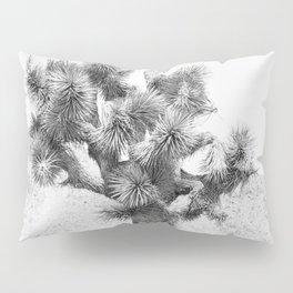 Twisted Joshua Tree - Black and White Photography Pillow Sham