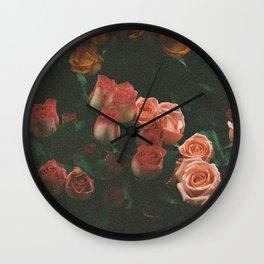 S H A D Y * D A H L I A Wall Clock
