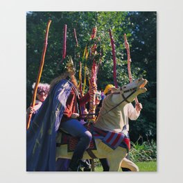 6 of Wands Canvas Print