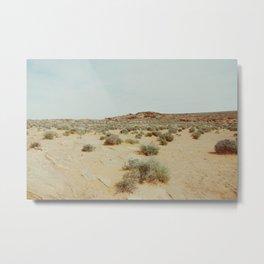 Open Sky Desert Metal Print