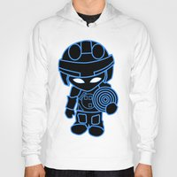 tron Hoodies featuring Mini Tron by thomasalbany