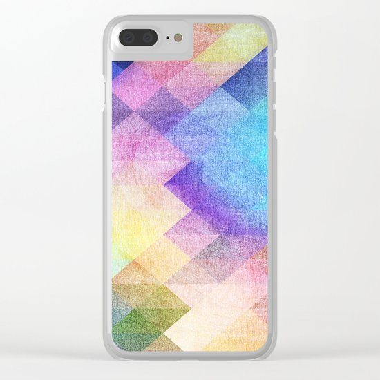 Pattern 10 Clear iPhone Case
