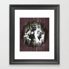 snoopLion Framed Art Print