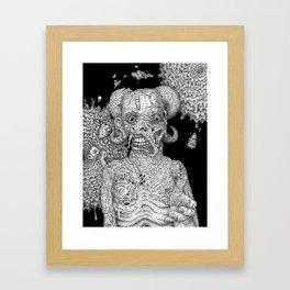 Greetings From Temptation Framed Art Print