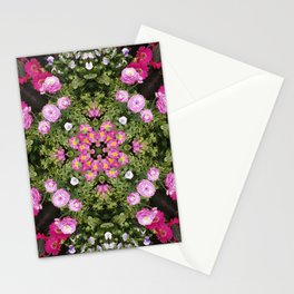 Gerbera And Ranunculus Kaleidoscope Stationery Cards