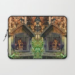 Ancient forest worker monument | architectural photography Laptop Sleeve