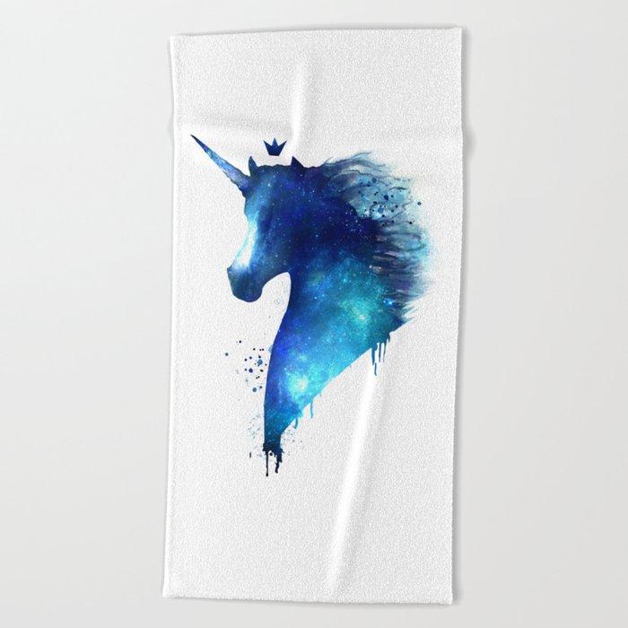 cosmic Unicorn Beach Towel