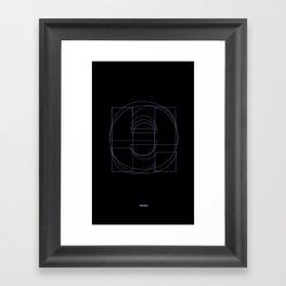 Die Neue Haas Grotesk (B-01) Framed Art Print