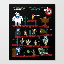 The Real Donkey Puft Canvas Print