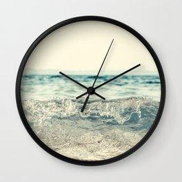 Vintage Waves Wall Clock