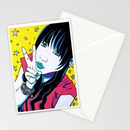 Girls Of MySpace (Bunny1) Stationery Cards