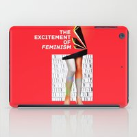 feminism iPad Cases featuring 1920's Feminism by Profunction