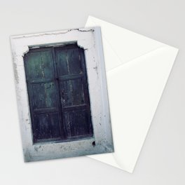 Santorini Door II Stationery Cards