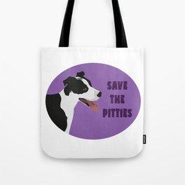 Save The Pitties Tote Bag