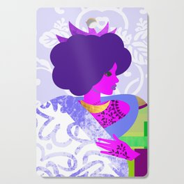 Queen's Robe Cutting Board