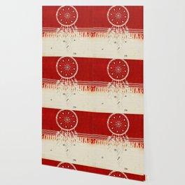 ARETERSTING V50 - Original Red Bohemian Moroccan Artwork Wallpaper