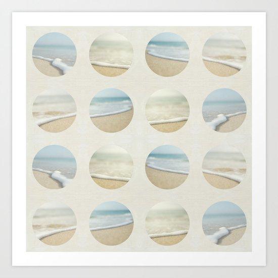Beach Print Art Print