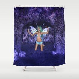 Cave Dweller Fairy Elf Shower Curtain