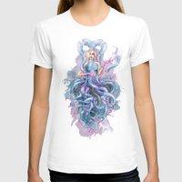 dress T-shirts featuring Octupus Dress by Mr. Gabriel Marques