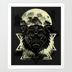 Dream Bear Art Print