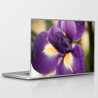 iris Laptop & iPad Skins featuring Iris by Light Wanderer