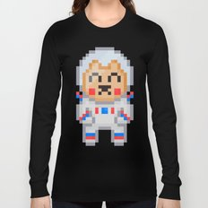 8Bit Astrobear Long Sleeve T-shirt