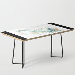 Splashy Elephant Coffee Table