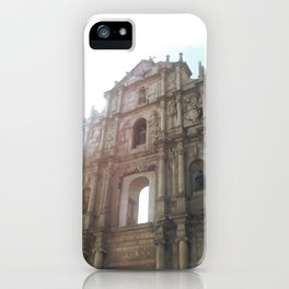 Ruins of St. Paul's iPhone Case